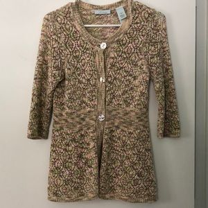 Unique cardigan sweater